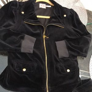 Beautiful black velour Juicy outfit